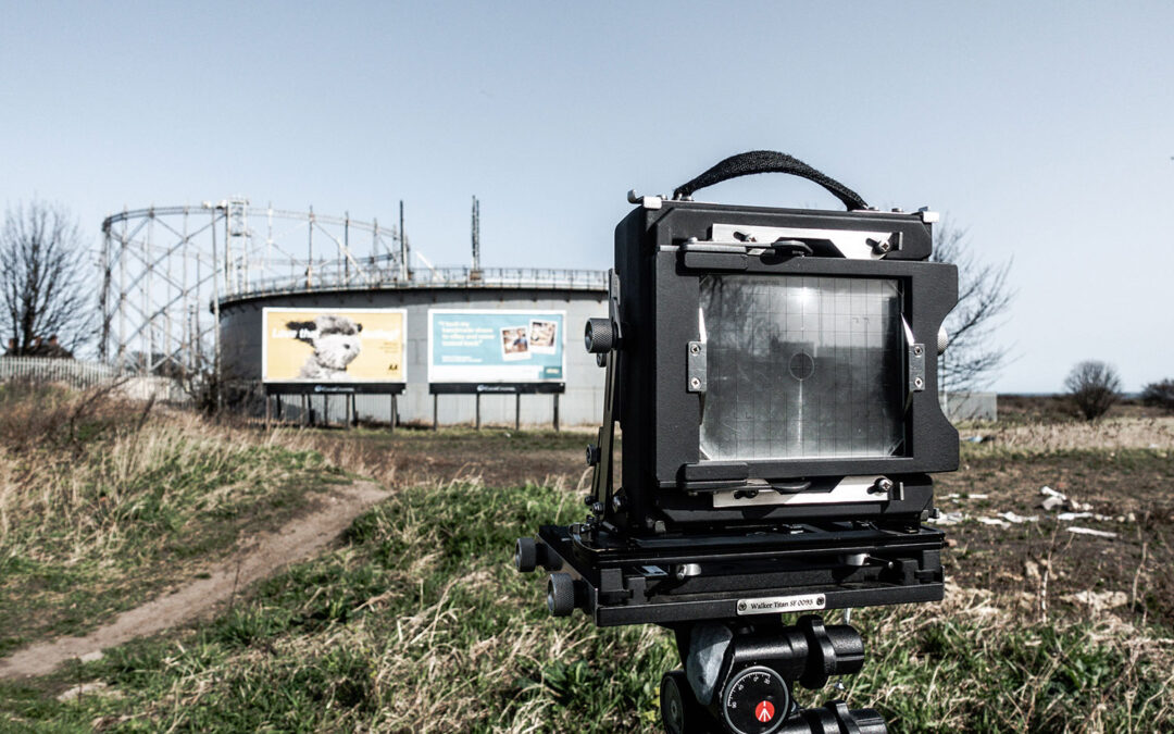 Walker Titan camera on location